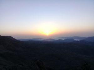 غروب آفتاب- شاهکوه